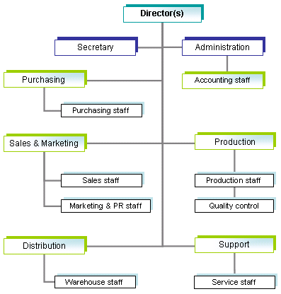 What Is An Organizational Chart In A Business Plan Management - Online business plan template